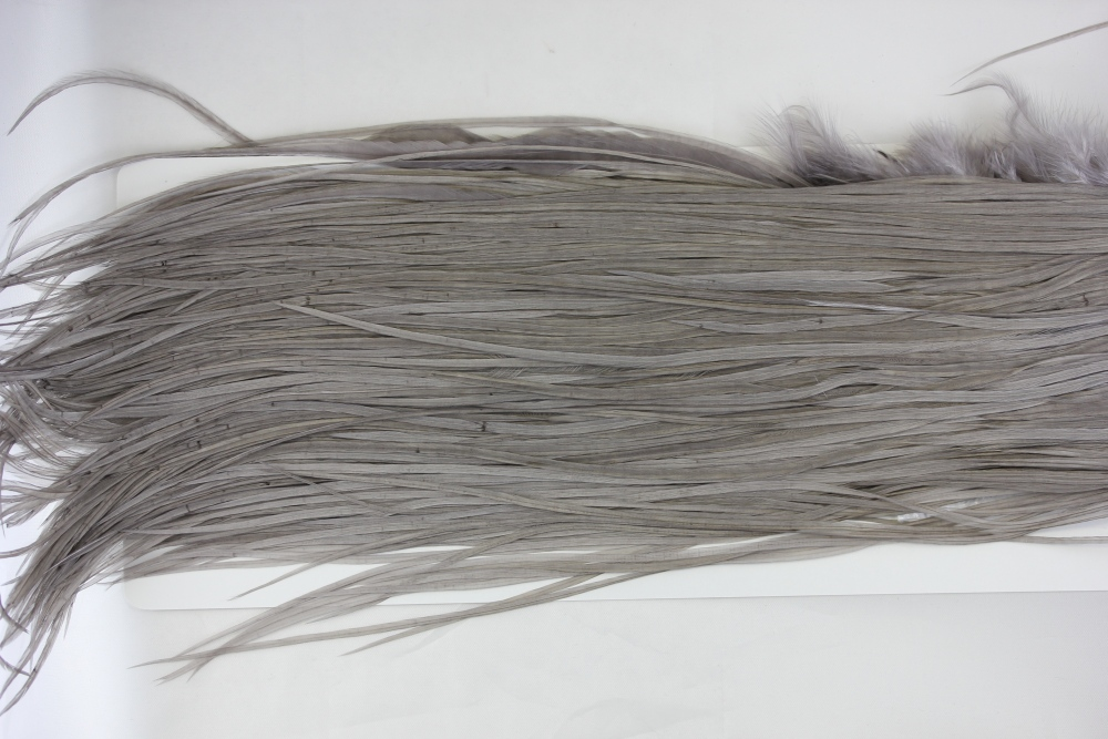 Medium Dyed Dun Silver Gr Saddle #2732
